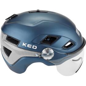 KED B-Vis X-Lite Helmet nightblue matt
